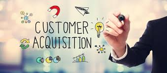 customer acquisition services page