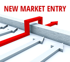 Selecting a strategy is critical for successfully entering a new market