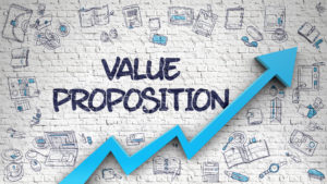 Create a strong value proposition