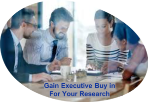 C-Suite Buy In for Research