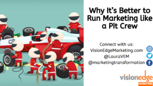Marketing Ops is Marketings Pit Crew