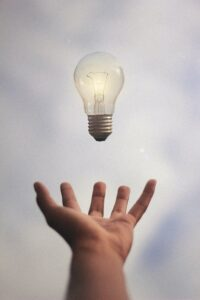 one good idea lightbulb
